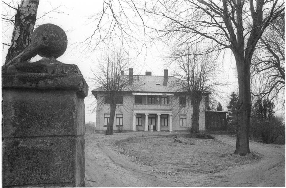 Das Wohnhaus des Kieler Hofes kurz vor dem Abriss im Jahr 1971. Foto: Stadtarchiv Kiel, Sammlung Magnussen.